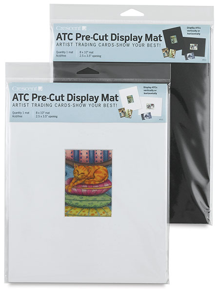 Artist Trading Card Mats, Single Opening