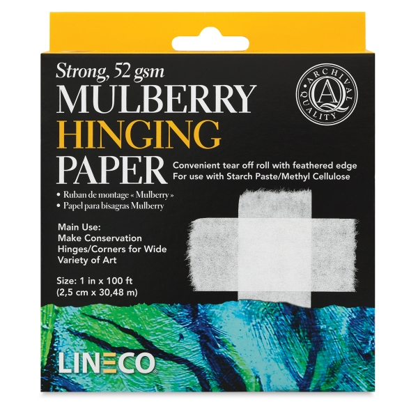 Lineco Mulberry Hinging Paper