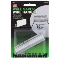 Wall Saver Wire Hanger, up to 50 lbs