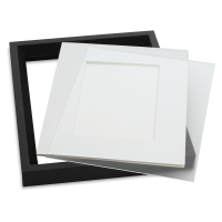 Non-Glare Styrene Sheets (Example only, frame and matting materials not included)