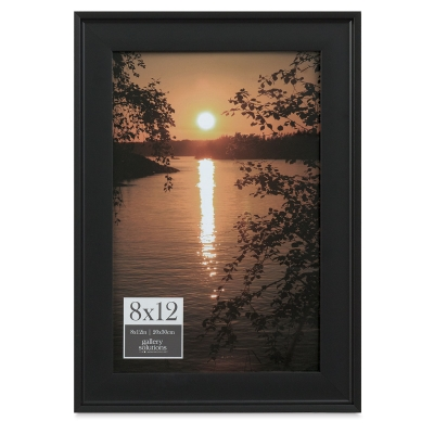 """Gallery Solutions Frame, 8"""" x 12"""""""