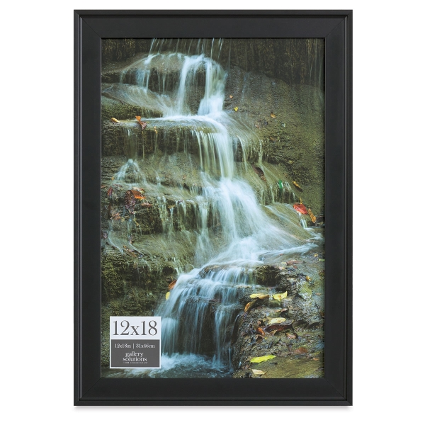 """Gallery Solutions Frame, 12"""" x 18"""""""