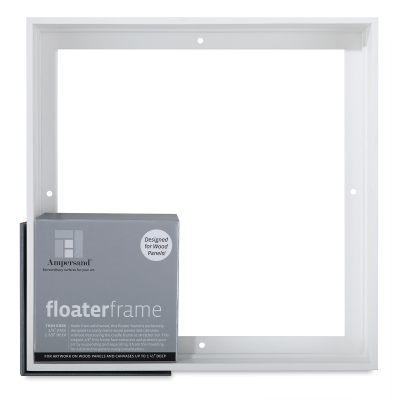 Ampersand FloaterFrame, White, Thin