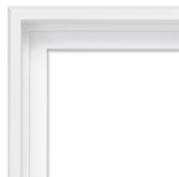 Blick Contour Floater Frame, White