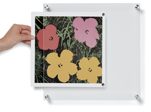 "BeSquare Single Panel Frame, 14"" x 14"", Artwork not included"