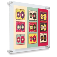 "Popster Double Panel Frame, 19"" × 23"", Artwork not included"