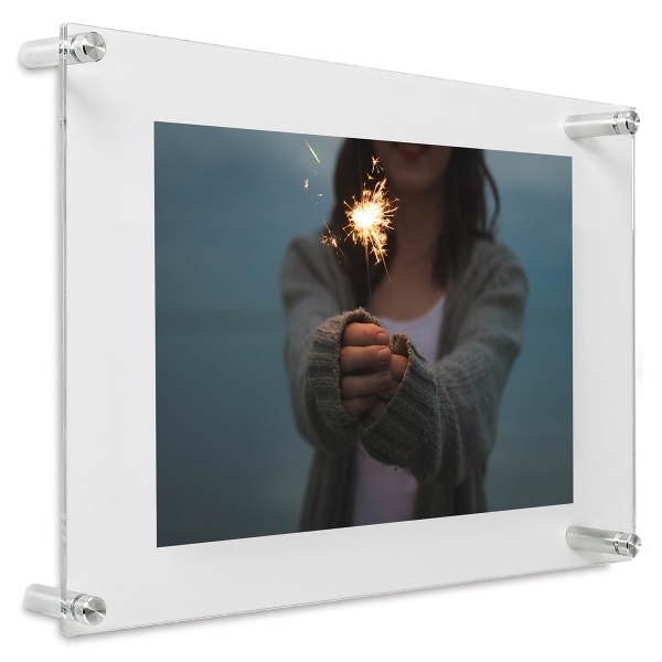 """Double Panel Frame, 12"""" × 15"""", Artwork not included"""