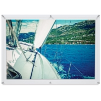"Pop Excel Double Panel Frame, 28"" × 40"", Artwork not included"