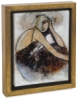"""Lost Love"" by Erin Ashley (Gold Crackle Frame)"