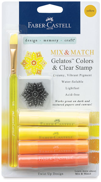 Mix & Match,  Assorted Yellows, Set of 4