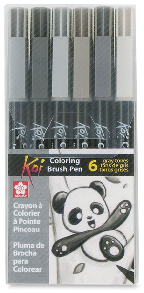 Grays, Set of 6