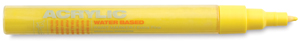 Acrylic Marker, Shock Yellow Light 0.7 mm