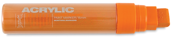 Acrylic Marker, Shock Orange 15 mm