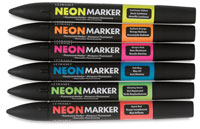 Letraset Neon Markers