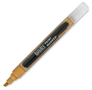 Paint Marker, Yellow Oxide, 2mm