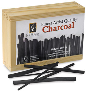 Willow Charcoal, Box of 50