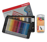 Stabilo CarbOthello Pastel Pencil Sets