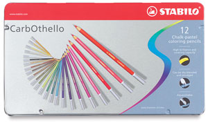 Pastel Pencils, Set of 12