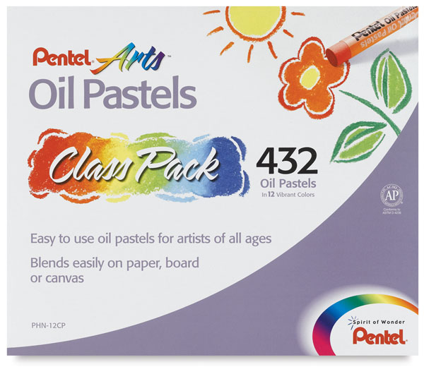 Oil Pastels, Class Pack of 432