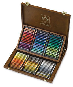Neocolor II, Wood Box Set of 84