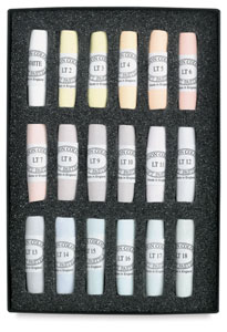 Set of 18, Light Colors