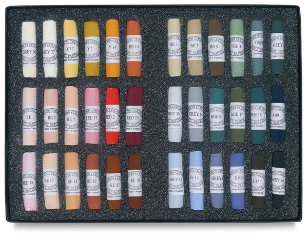 Set of 36, Portrait Colors