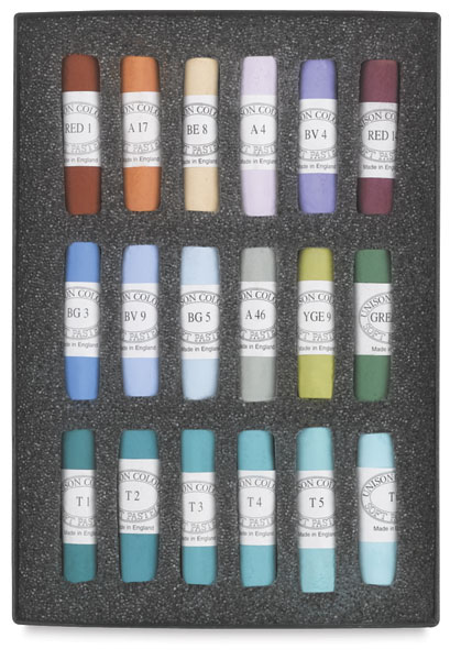 Set of 18, Southwest Colors