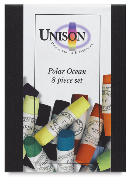 Polar Ocean Colors, Set of 8
