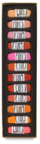 Hot Colors, Set of 12