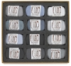 Gray Colors, Set of 12