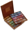 Assorted Colors, Wooden Box Set of 250, Full Sticks
