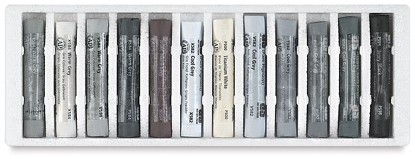 Gray Tones, Set of 12