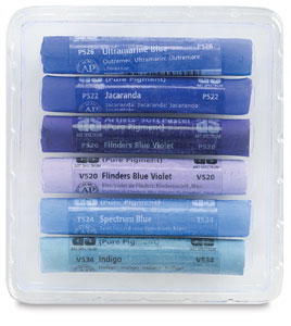 Blues & Violets, Set of 6