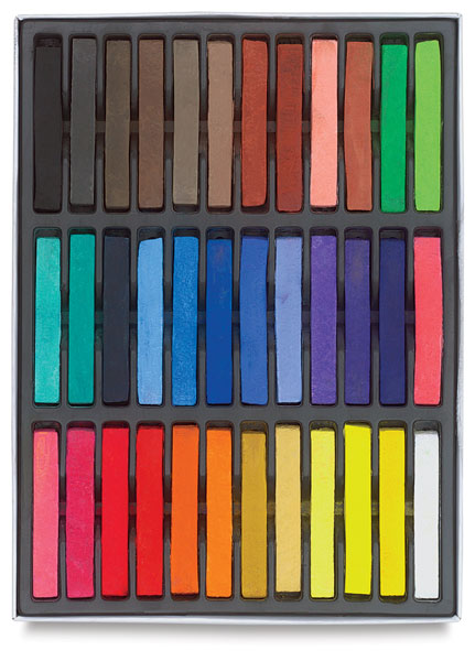 Soft Pastels, Set of 36