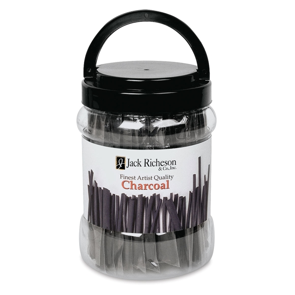 Willow Charcoal Medium Canister, 144 Sticks