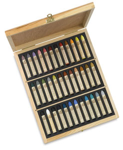 Set of 36, Plein Air Wooden Box, Standard Size