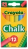 Crayola Multi-Colored Chalk, Set of 12