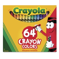 Regular Crayon Set, Set of 64