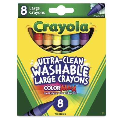 Set of 8, Large Crayons