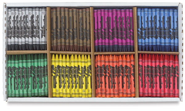 Master Pack of 800 Crayons