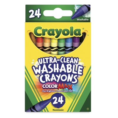 Set of 24, Regular Crayons