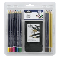 Royal Langnickel Essentials Pencil Sets