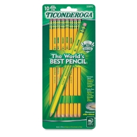 Dixon Ticonderoga Pencils, Pkg of 10