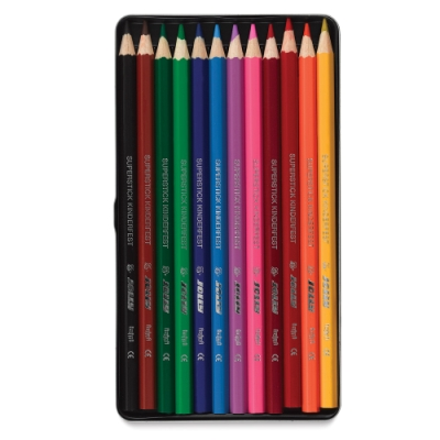 Superstick Colored Pencils, Set of 12