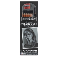 Charcoal Pencils, Set of 8