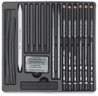 Cretacolor Charcoal Drawing Set