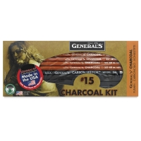 Charcoal Pencil Drawing Kit