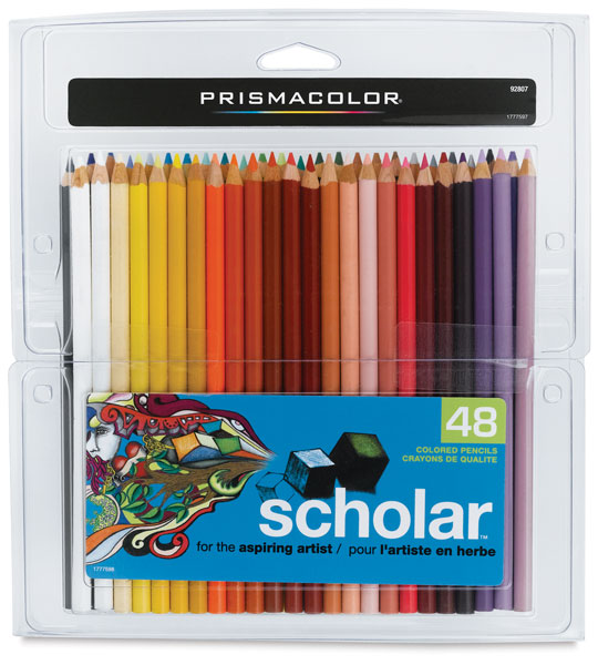 Scholar Art Pencils, Set of 48