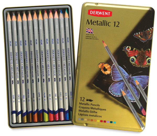 Metallic Pencils, Set of 12