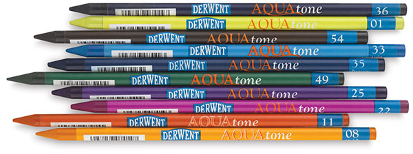 Derwent Aquatone Woodless Watercolor Sticks